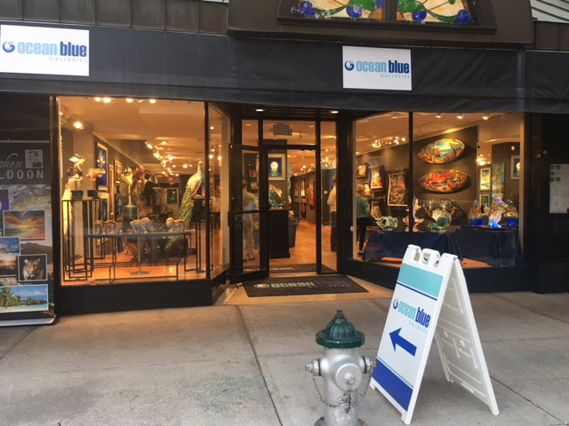 Art Gallery Ocean Blue Galleries in Winter Park Orlando