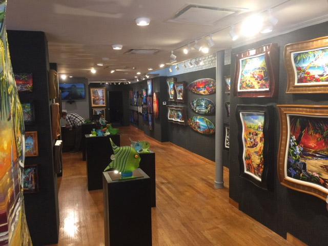 Art Shows at Art Gallery Ocean Blue Galleries in Winter Park Orlando