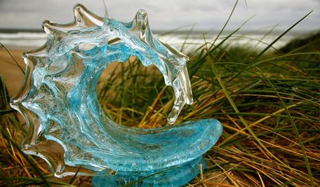 David Wight Glass Art Sculptures at Ocean Blue Galleries