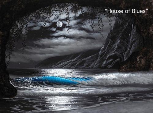Walfrido Garcia Art House of Blues Wyland Gallery Sarasota