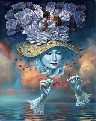 Michael Cheval Art Fine Art - Ocean Blue Galleries Winter Park OrlandoFL