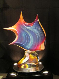 Dino Rosin Glass Sculptures - Wyland Gallery Sarasota - Art