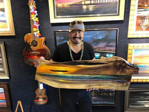 Walfrido Garcia Art at Wyland Gallery Sarasota