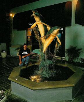 Wyland 9 ft Syn Fountain - Wyland Gallery Sarasota
