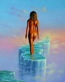 Jim Warren Dream Walker - Wyland Gallery Sarasota