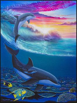 Wyland Embrace the Sea - Wyland Gallery Sarasota