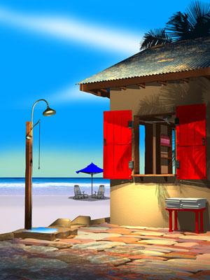 The Beach Shower