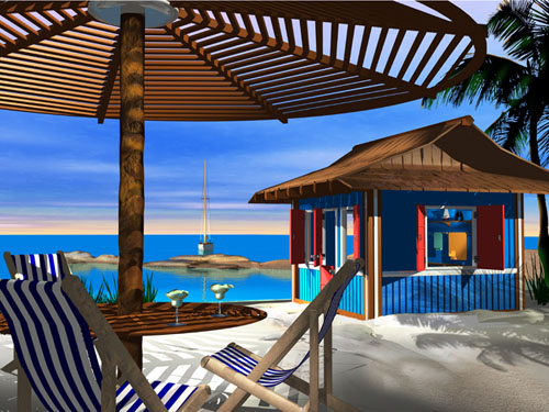 Steve Harlan - The Island - Wyland Gallery Sarasota