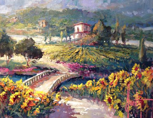 Vineyard Sunflowers 2