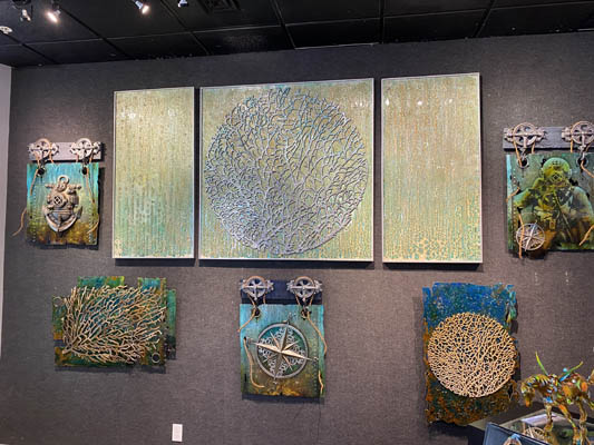 Art by Krystiano DaCosta at Wyland Galleries of the Florida Keys