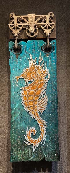 Sea Horse - Krystiano DaCosta Art Wyland Galleries of the Florida Keys