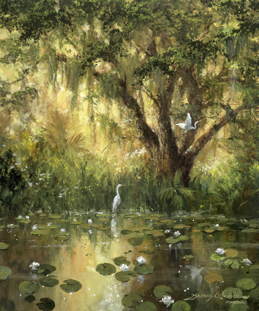 Solitude by James Coleman at Wyland Galleries of the Florida Keys