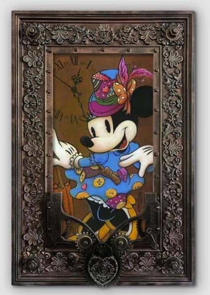 Steampunk Minnie - Krystiano DaCosta Art Wyland Galleries of the Florida Keys